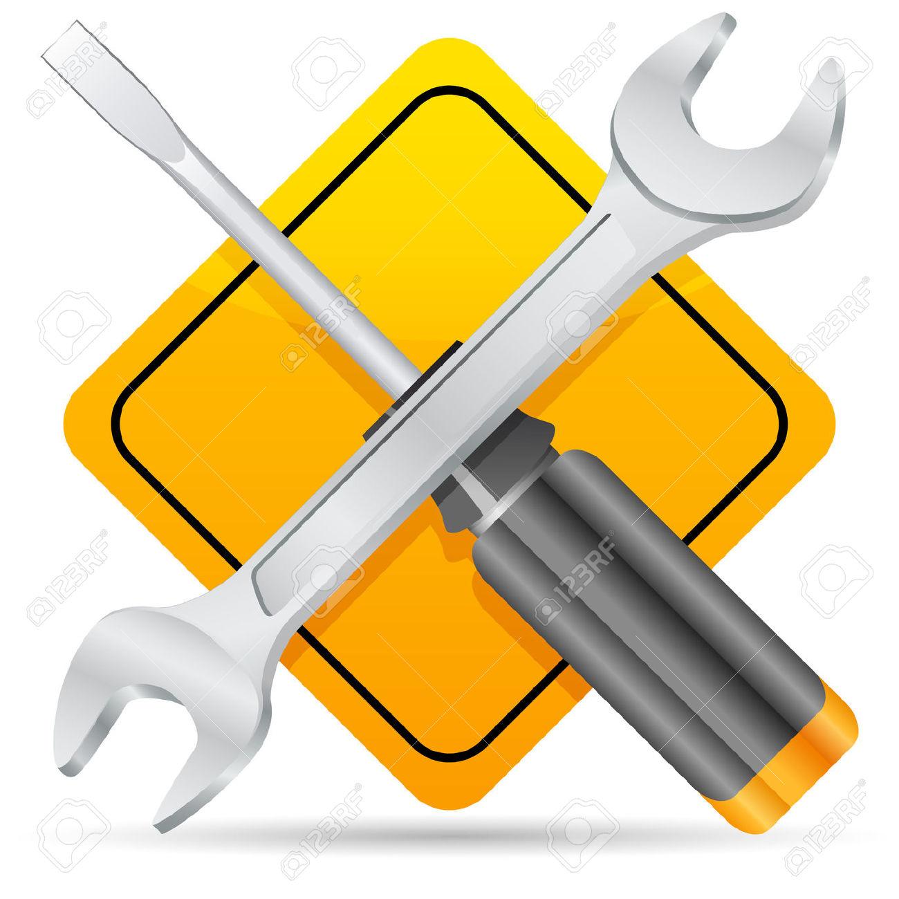 Maintenance Clipart.