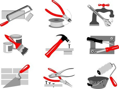 Maintenance Tools 02 Clipart Picture Free Download.