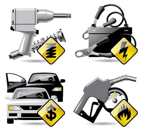 Maintenance vehicle clipart #10