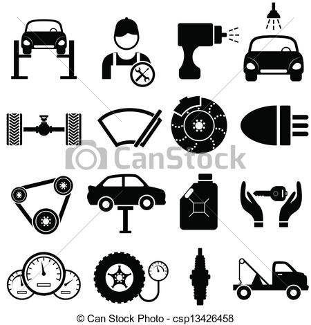 Maintenance vehicle clipart #8