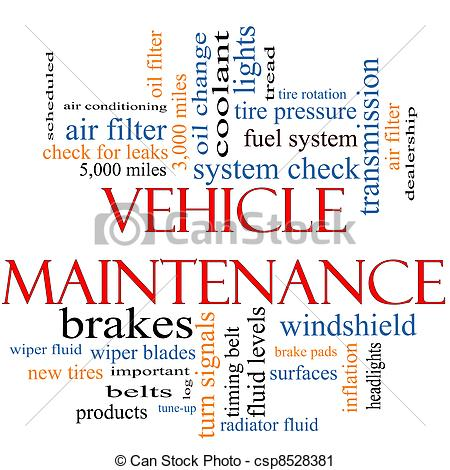 Maintenance vehicle clipart #15