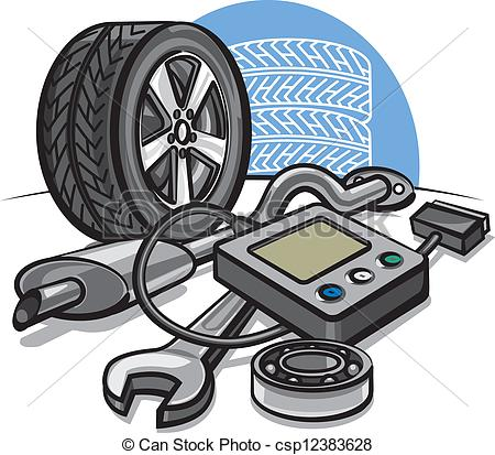 Maintenance vehicle clipart #20