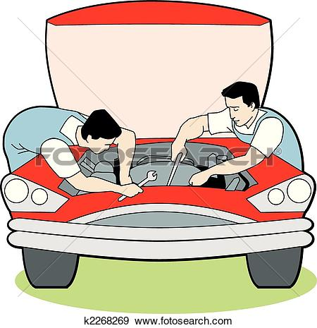 Maintenance vehicle clipart #12