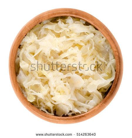 Sauerkraut Isolated Stock Photos, Royalty.