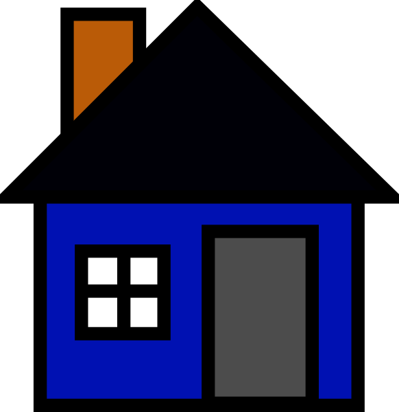 clipart house maison house #md.