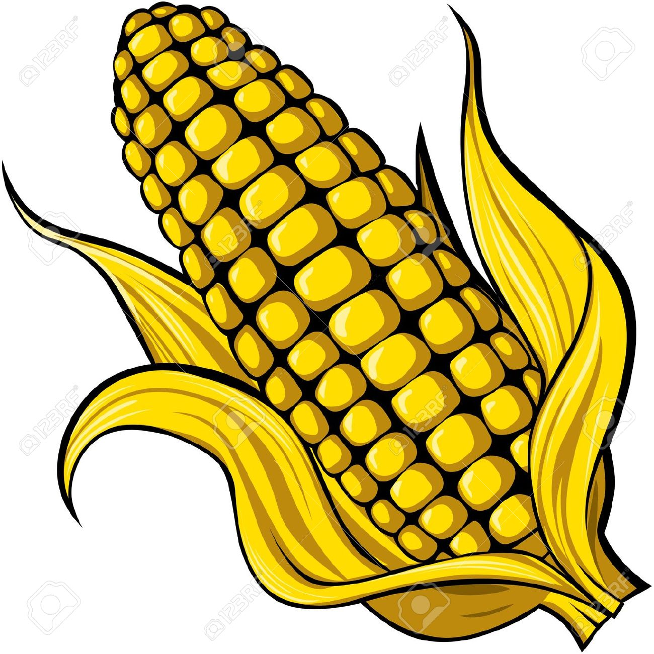 Corn Royalty Free Cliparts, Vectors, And Stock Illustration. Image.