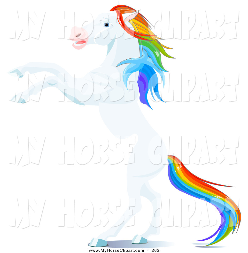 Majestic Horse Clipart.
