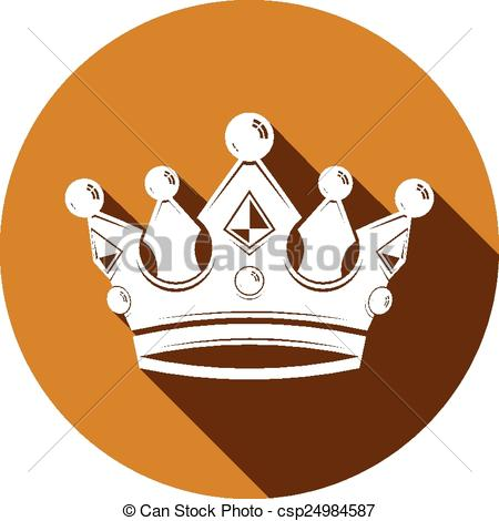 Vector of Stylish majestic 3d crown.