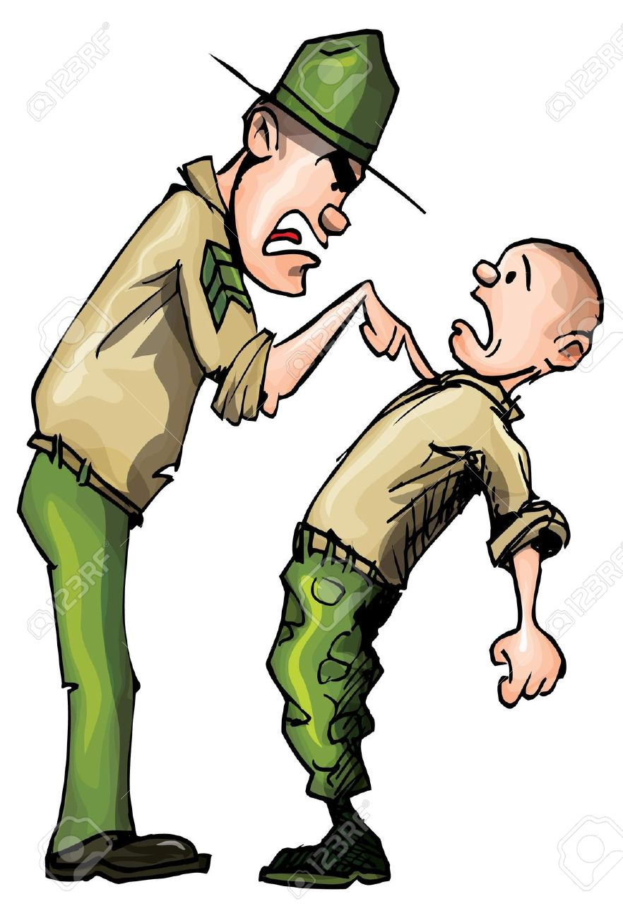 Sergeant major clipart.