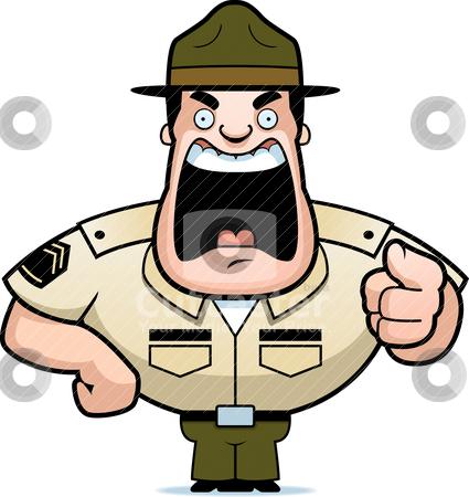 Sergeant major clipart.
