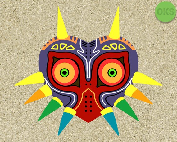 Majora\'s mask svg, majora\'s mask svg files, majora\'s mask.