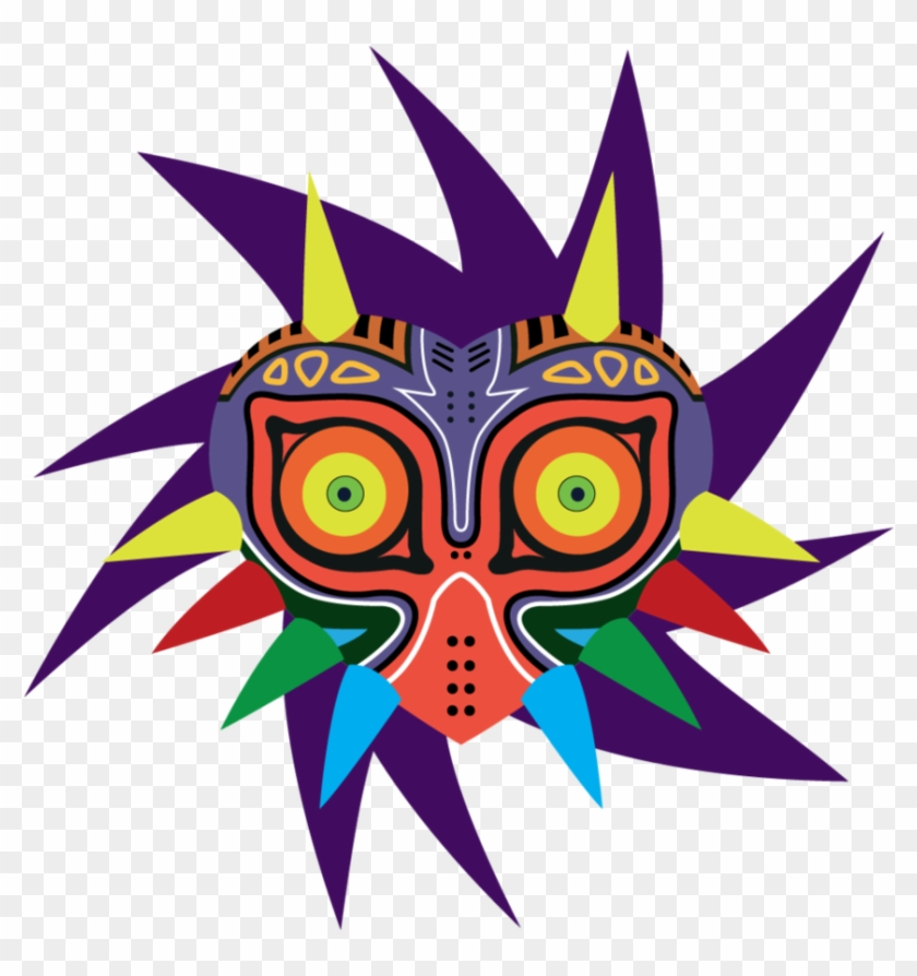 Majoras Mask Vector, HD Png Download.