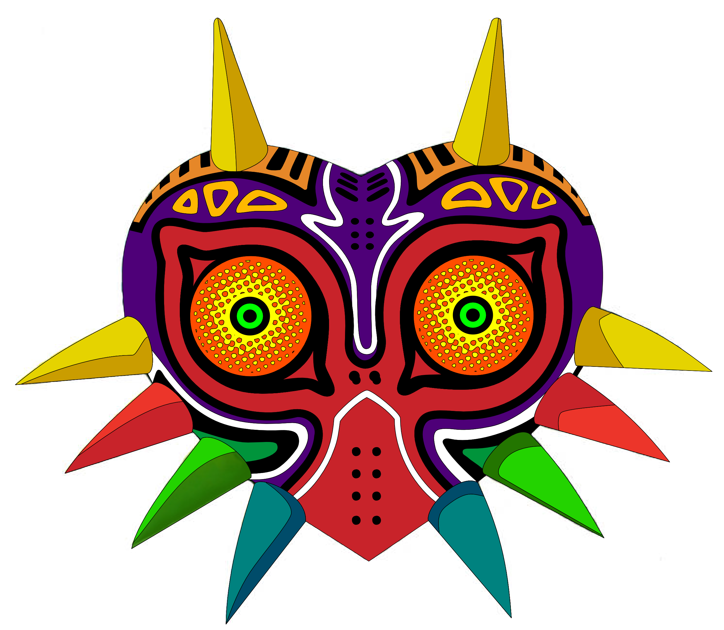 Majora's Mask by RevPixy on DeviantArt.