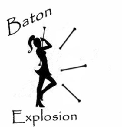 Majorette baton clipart.