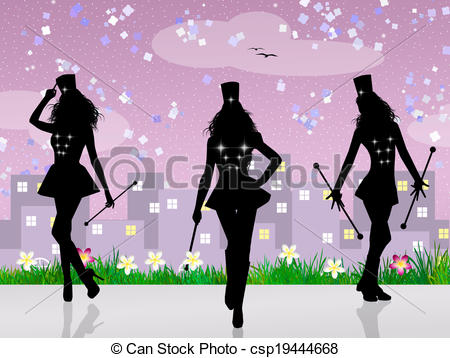 Majorette Illustrations and Stock Art. 29 Majorette illustration.