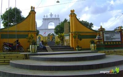 Objek Wisata Karaton Sumenep Madura.