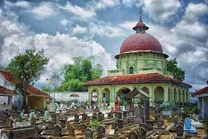 Asta Tinggi In Sumenep: The Royal Cemetery With Islamic, China And.
