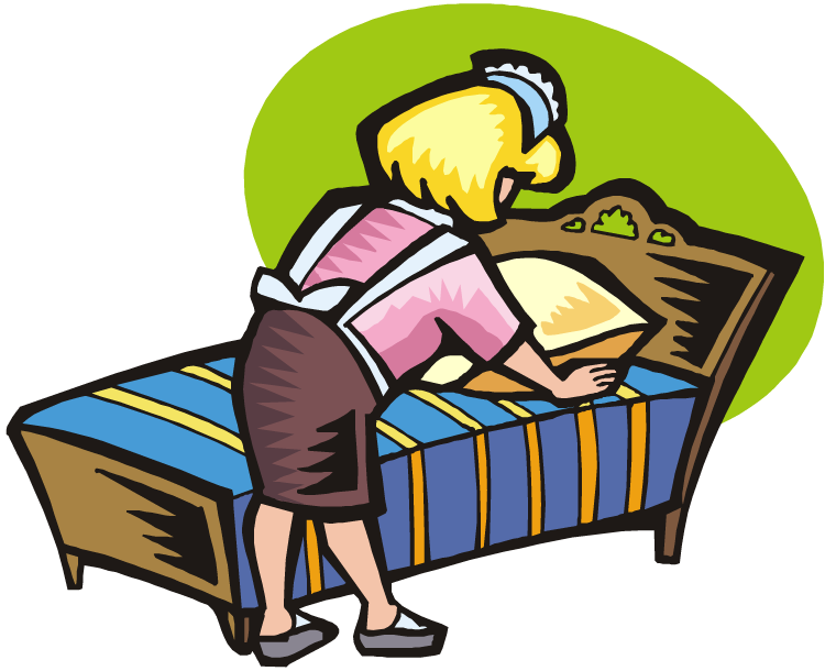 Make Bed Clipart & Make Bed Clip Art Images.