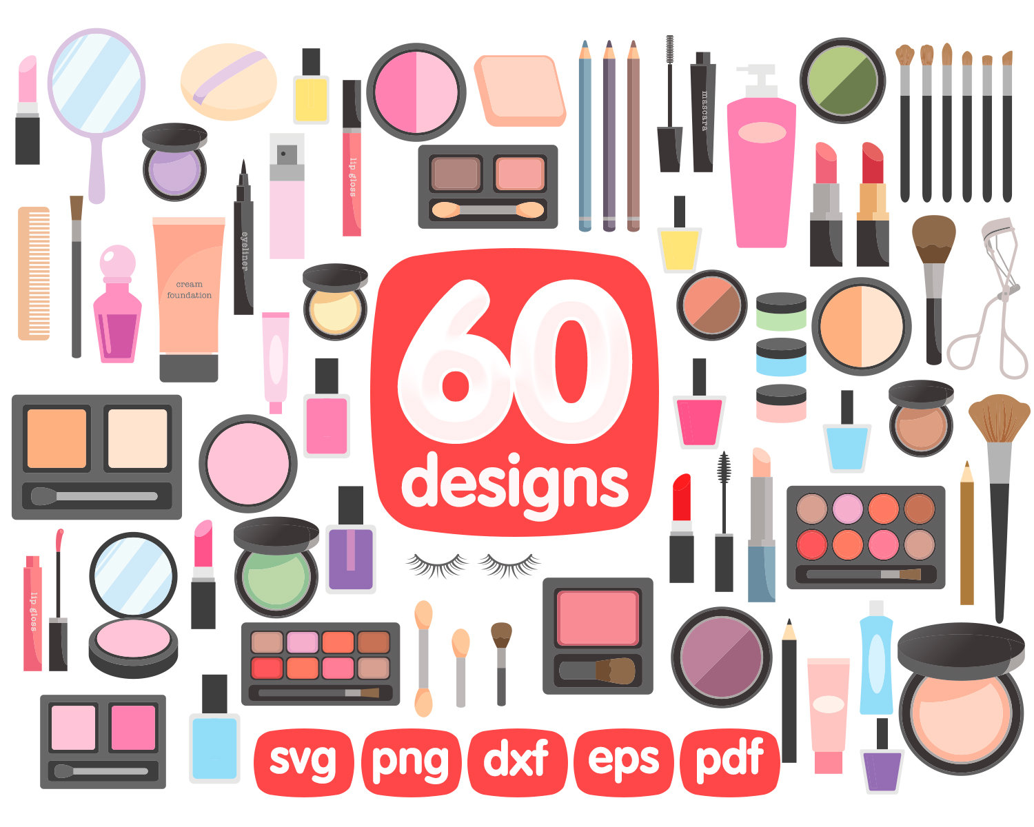 Makeup clipart pdf, Makeup pdf Transparent FREE for download.