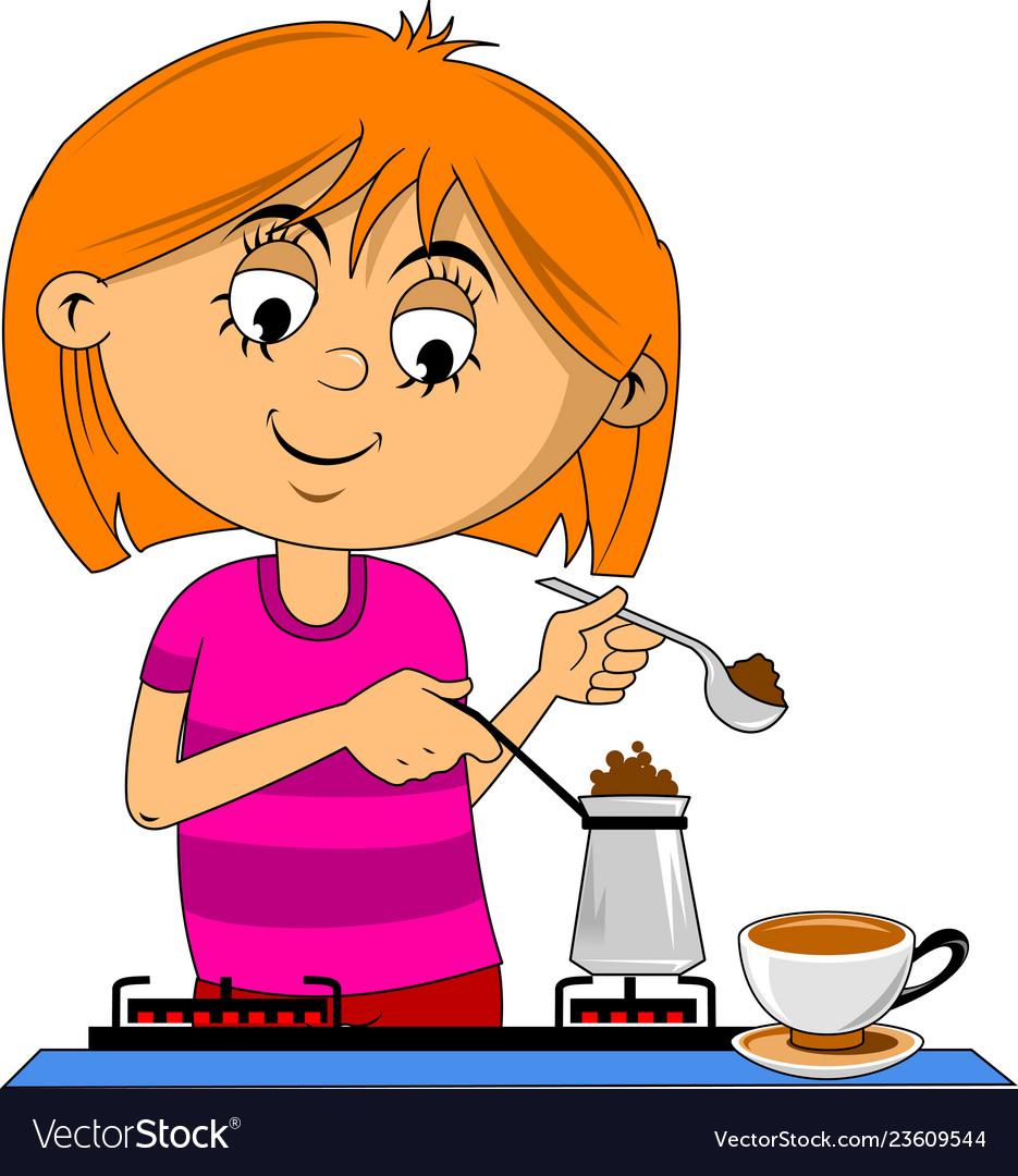 Make coffee.