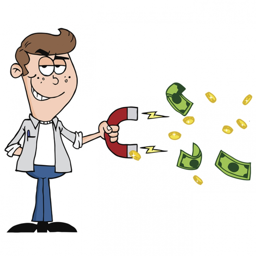 Making Money Clipart.