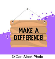 Make a difference Illustrations and Stock Art. 287 Make a.