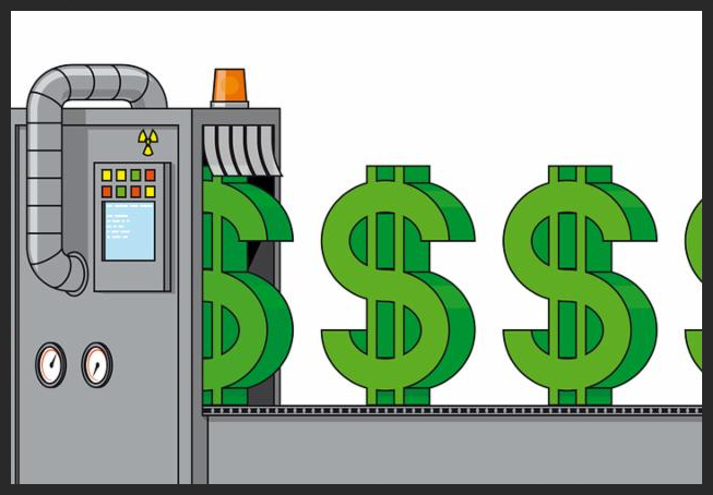 Money Make Clipart Machine Free On Transparent Png.