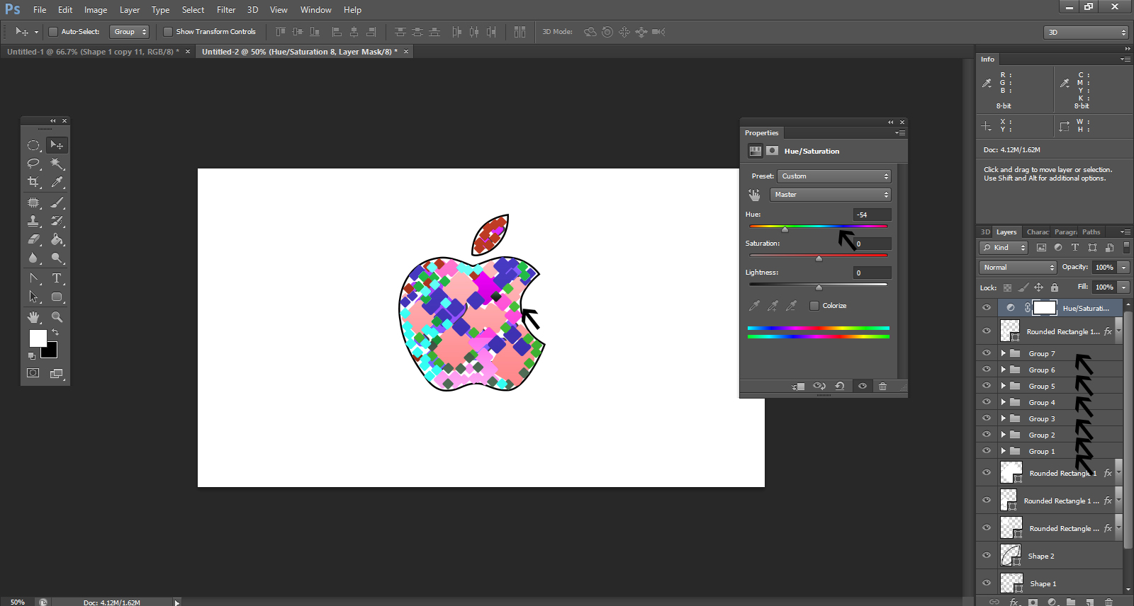 Easy Steps To Create Apple Logo In Photoshop.