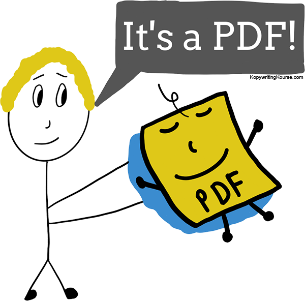 How to make a PDF (for Free, without Adobe) :: Kopywriting.