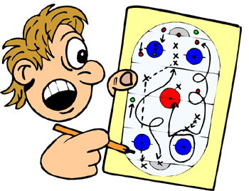 Showing post & media for Making plans clip art cartoon.