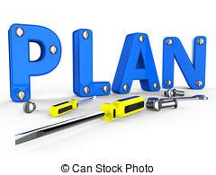 Make A Plan Clipart.