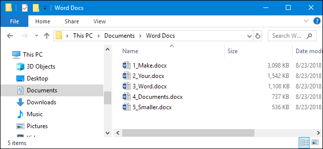 How to Reduce the Size of a Microsoft Word Document.