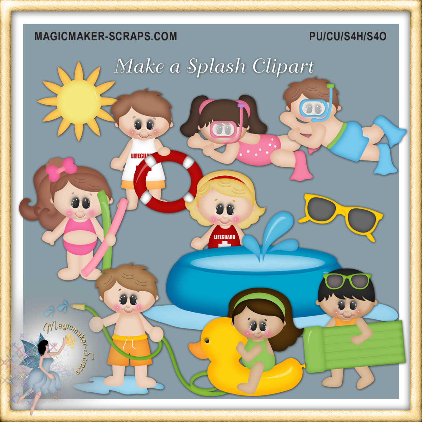 Make A Splash Clipart.
