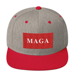 Details about MAGA Flatbill Hat, Donald Trump Make America Great Again Hat.