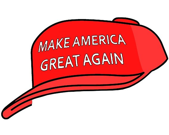 'President Donald Trump Make America Great Again' Poster by Desire.