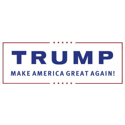 Trump Make America Great Again transparent PNG.
