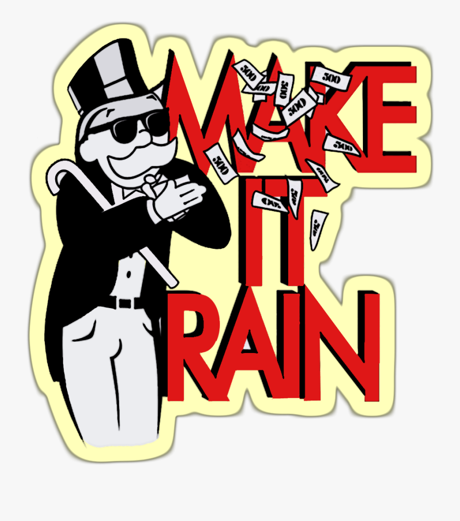 Clip Art Make It Rain Clipart.