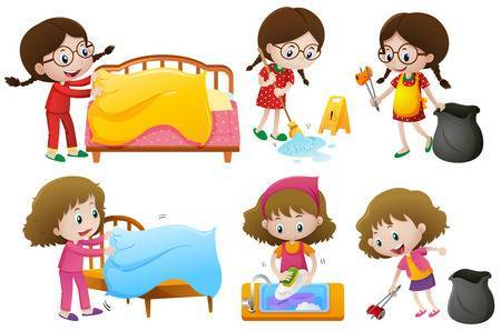 Make bed clipart 5 » Clipart Portal.