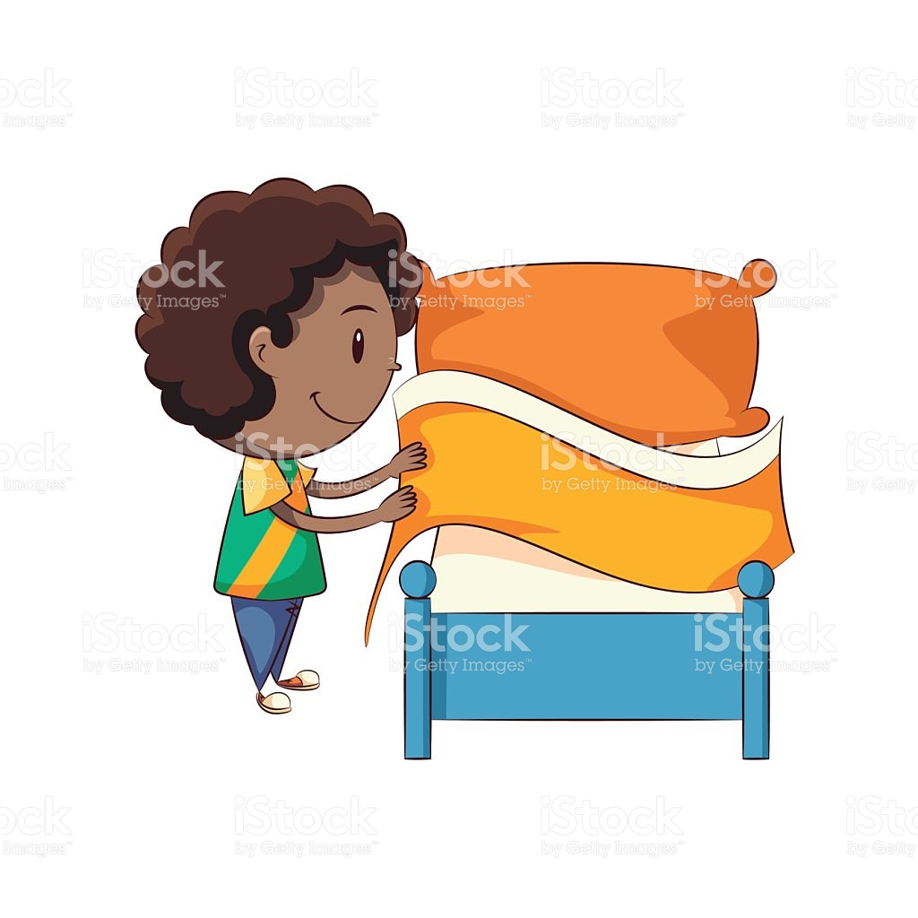 Make your bed clipart 4 » Clipart Station.