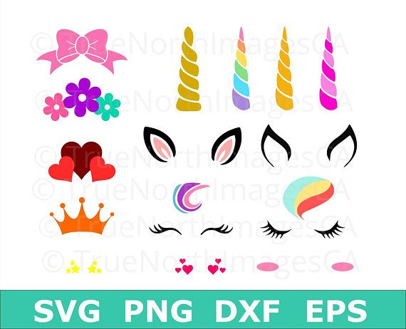 Unicorn SVG / Unicorn Svg Bundle / Unicorn Head SVG.