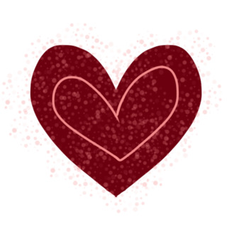 Valentine's Day Clip Art Bundle (transparent background).