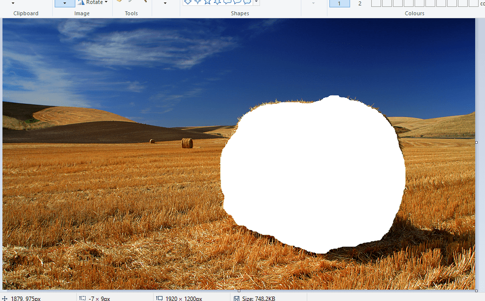 Learn how to make a background transparent in Paint on.