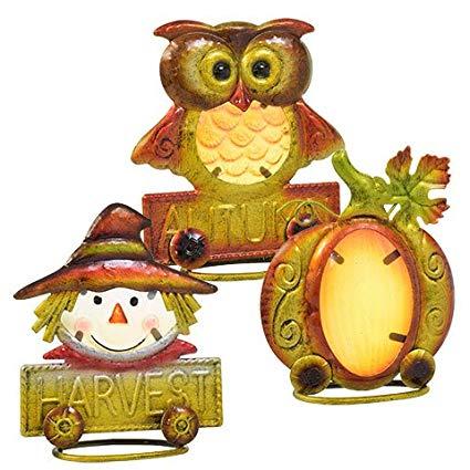 Amazon.com: Autumn Harvest Icon Table Decorations, Set of 3.