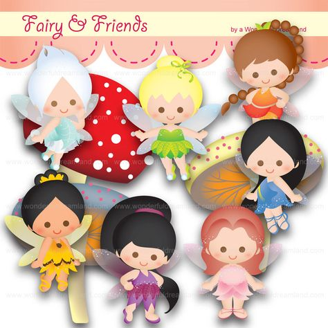 Fairy and Friends.