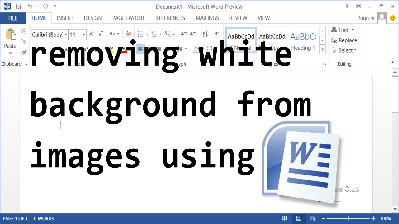 How To Remove White Background From Images.