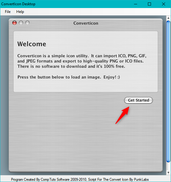 2 ways to convert PNG, SVG, JPG files to ICO files in.