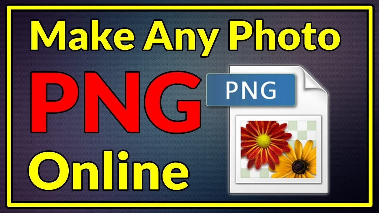 How TO Make Any Image PNG online in 10 seconds.