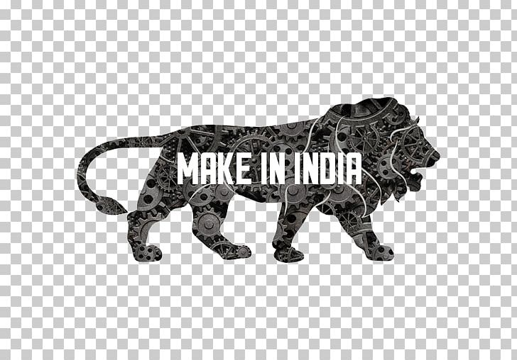 Make In India Government Of India Logo Manufacturing PNG.