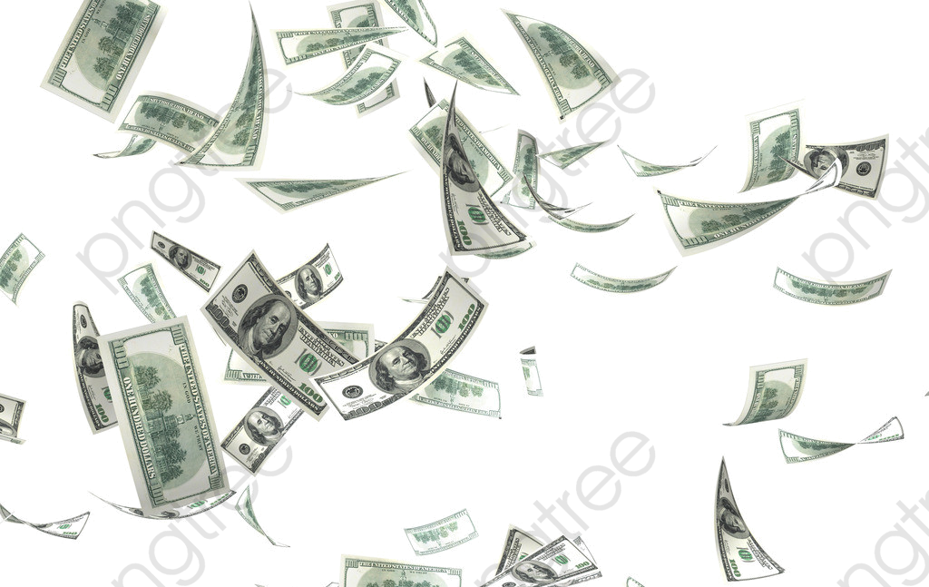 Flying Money Png Transparent Background Make It Rain.