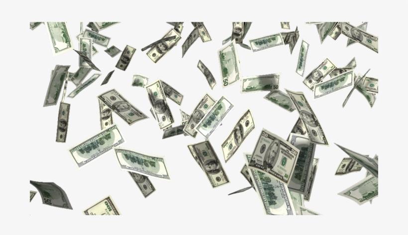 Money Rain Png.